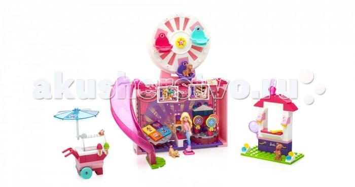 Конструктор Mega Bloks Mattel Barbie Праздник Барби (165 деталей)