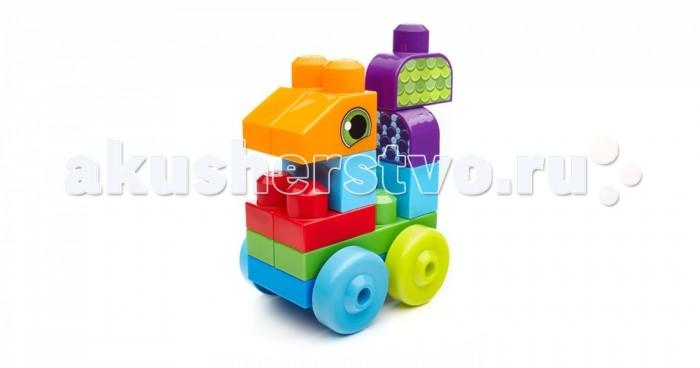 Конструктор Mega Bloks Mattel First Builders Животные (20 деталей)