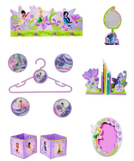 Аксессуары для детской комнаты Disney Набор декора Феи 10 предметов