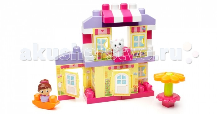 ����������� Mega Bloks Mattel First Builders ������ ����� (40 �������)