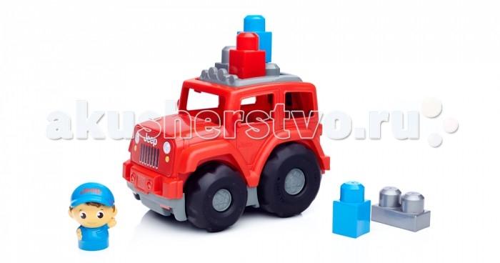 Конструктор Mega Bloks Mattel Внедорожник (6 деталей)