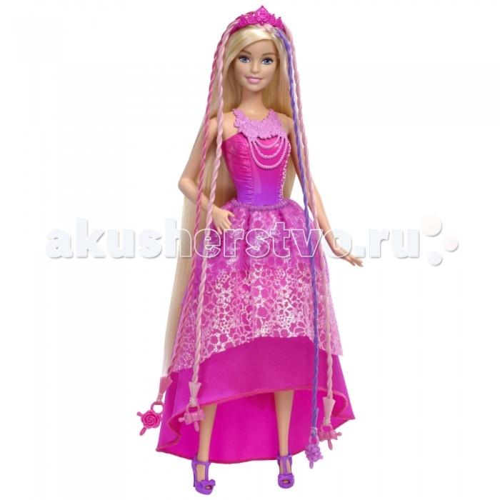 Barbie Mattel Кукла-принцесса с волшебными волосамиMattel Кукла-принцесса с волшебными волосамиКукла-принцесса с волшебными волосами от торговой марки Mattel - это замечательная игрушка, которая приведёт в восторг любого ребенка. Главная особенность этих кукол - невероятно длинные роскошные волосы. Их можно расчёсывать и делать причёски.   В наборе есть инструмент для создания двойных или тройных жгутиков. Пластиковые украшения на кончиках волос легко соединяются с прибором, благодаря чему ваша кроха без труда сможет создавать новые причёски.   Платье принцессы выполнено в ярко-розовой цветовой гамме. Диадема в тон дополняет наряд и придаёт образу завершённость. Кукла-принцесса Endless Hair станет отличным подарком для для вашей дочери!  Высота куклы: 29 см.  В комплекте: кукла прибор для закручивания волос аксессуары<br>