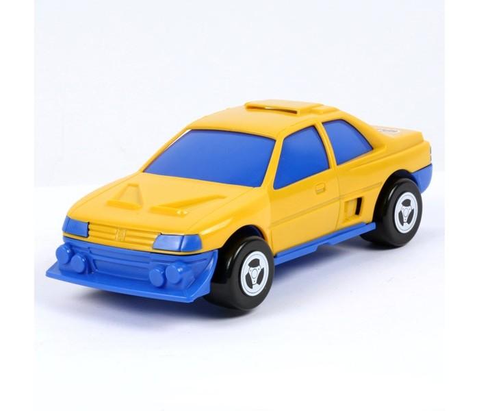 Полесье Автомобиль ЛидерАвтомобиль ЛидерПолесье Автомобиль Лидер настоящая радость для мальчика, который разбирается в автомобилях. Данная модель станет прекрасным дополнением коллекции Вашего ребенка.   Особенности: Такой яркий жёлто-синий автомобиль понравится любому мальчишке, который сможет играть с ним как в доме, так и на улице.  Игрушка выполнена из пластика. Автомобиль не имеет острых углов и мелких деталей. Материал, из которого он выполнен, нетоксичен и не вызывает аллергии. Поэтому с уверенностью можно сказать, что игрушка полностью безопасна даже для самых маленьких детей.   Размер игрушки: 22 х 10,5 х 8,5 см<br>