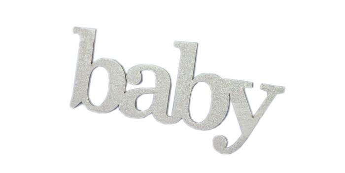Suvenirrus Декоративное слово Baby