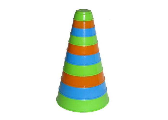 Развивающая игрушка Полесье Пирамидка Занимательная (10 элементов)Пирамидка Занимательная (10 элементов)Полесье Пирамидка Занимательная из 10 элементов, обязательно понравится вашему малышу и займет его внимание надолго.  Занимательная пирамидка поможет Вашему ребенку запоминать цвета, сопоставлять размеры предметов, получить первые навыки счета. А еще она станет ему интересной игрушкой в песочнице и увлекательным предметом в игре с водой, например, при купании в ванне.<br>