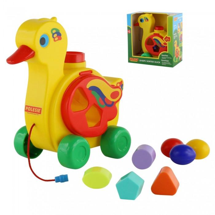 Каталка-игрушка Cavallino Уточка-несушка