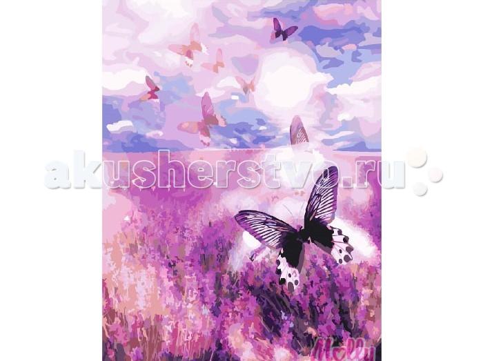 Раскраска Molly Картина по номерам Цветы лаванды 40х50 см