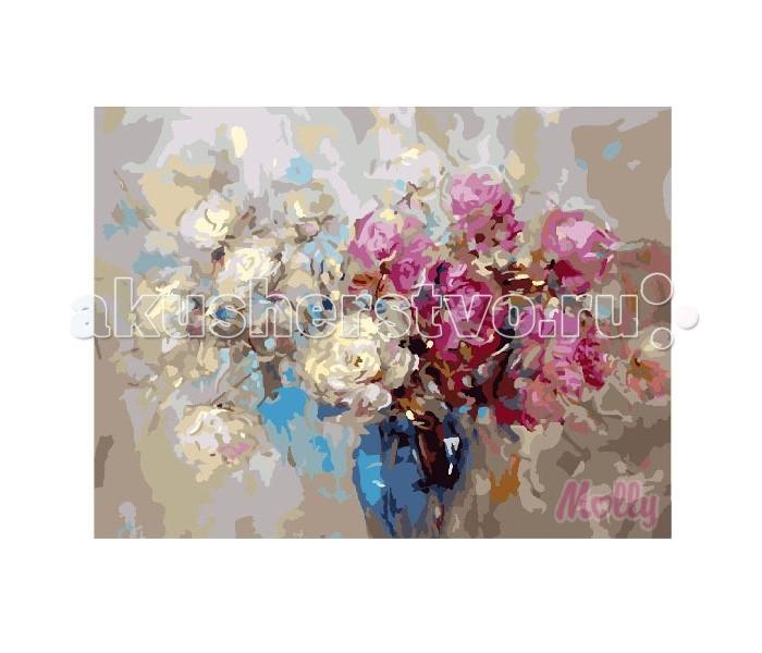 Раскраска Molly Картина по номерам Подарок флориста 40х50 см