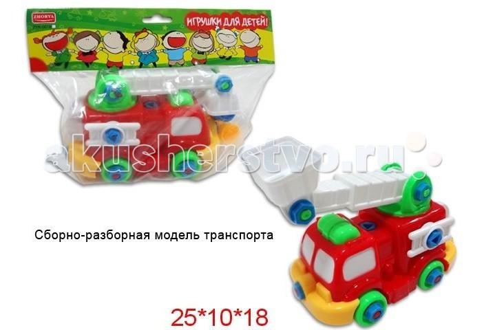 Конструктор Zhorya Машинка Х75792Машинка Х75792Конструктор Zhorya Машинка Х75792 выполненная из пластика ярких цветов, несомненно привлечет внимание ребенка.   Благодаря тому, что элементы и шурупы довольно крупных размеров, маленькому ребенку будет легко соединять их друг с другом с помощью пластиковых отвертки и ключа, входящих в комплект.   Конструктор изготовлен из высококачественных материалов с помощью которых ваш ребёнок сможет развить мышление, логику, фантазию, моторику рук и пространственное восприятие. Данная модель на долго увлечёт вашего малыша и подарит ему радость и веселье.<br>