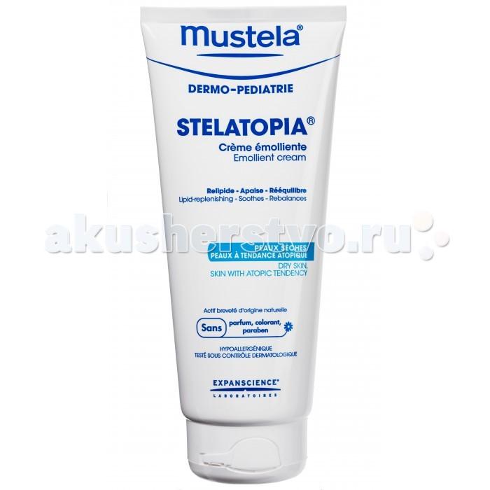 Mustela Крем-эмульсия «Stelatopia» для новорожденных и младенцев, 200 мл
