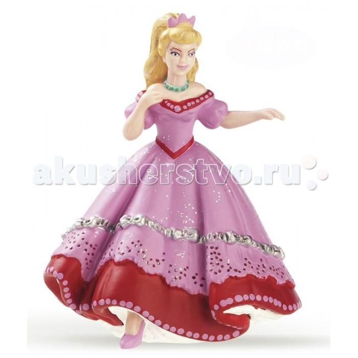 Papo Игровая реалистичная фигурка Танцующая розовая принцессаИгровая реалистичная фигурка Танцующая розовая принцессаPapo Игровая реалистичная фигурка Танцующая розовая принцесса  Особенности: Ручная роспись.  Все фигурки Papo проходят тщательную подготовку и обработку, поэтому они крепкие и долговечные. Материал: высококачественный полимерный материал.  Размеры: 5.3х9.3х7 см<br>