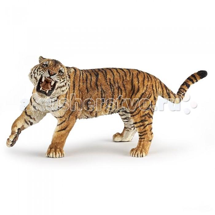 Papo Игровая реалистичная фигурка Рычащий тигрИгровая реалистичная фигурка Рычащий тигрPapo Игровая реалистичная фигурка Рычащий тигр  Особенности: Ручная роспись.  Все фигурки Papo проходят тщательную подготовку и обработку, поэтому они крепкие и долговечные. Материал: высококачественный полимерный материал.<br>