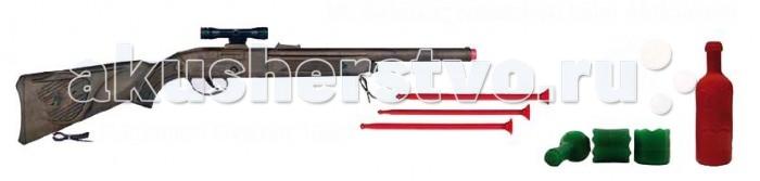 Gonher Игровой набор Тир 107/0Игровой набор Тир 107/0Gonher Игровой набор Тир, который сделан известным испанским производителем игрушечного оружия.   Особенности: Модель изготовлена из металла наивысшего качества.  Тщательно продуманная конструкция пистолета обеспечит максимальную безопасность ребенка во время игры.  Стреляет стрелами с писосками.  Оригинальный дизайн и высокая реалистичность обязательно понравятся вашему мальчику.  В набор входит: ружье, три стрелы - присоски, две бутылки - мишени.<br>