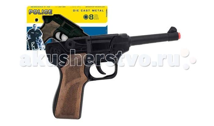 Gonher Игрушечный Пистолет Police 124/6 Игрушечный Пистолет Police 124/6 124/6