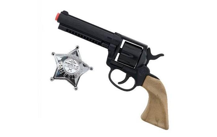 Gonher Игрушка Ковбойский набор (револьвер+звезда шерифа) 204/0