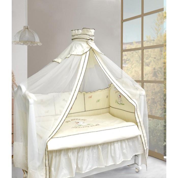 Увеличить фотографию Комплект в кроватку Тэдди Бир 7 пр/зеленый.