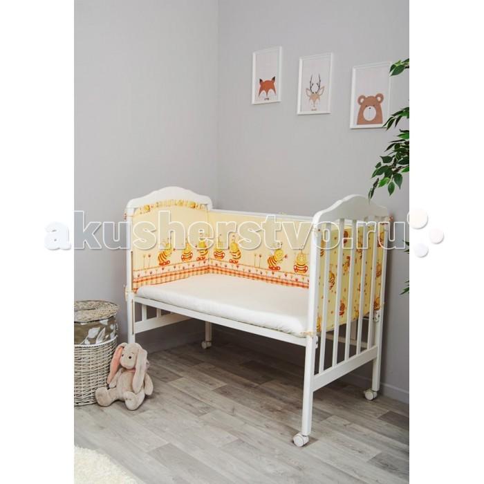 Бампер для кроватки Сонный гномик Пчелки