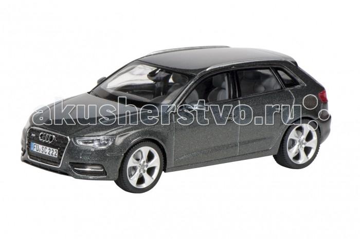 Schuco Автомобиль Audi A3 SportbackАвтомобиль Audi A3 SportbackSchuco Автомобиль Audi A3 Sportback – это отличная модель автомобиля, воспроизведенная в игрушечной коллекционной версии.   Особенности:  Машина выполнена в металлическом корпусе, ее детали подвижны.  Авто компании-производителя Schuco ценятся среди коллекционеров реалистичностью и детализированностью.  Автомобиль выполнен в масштабе 1:43<br>