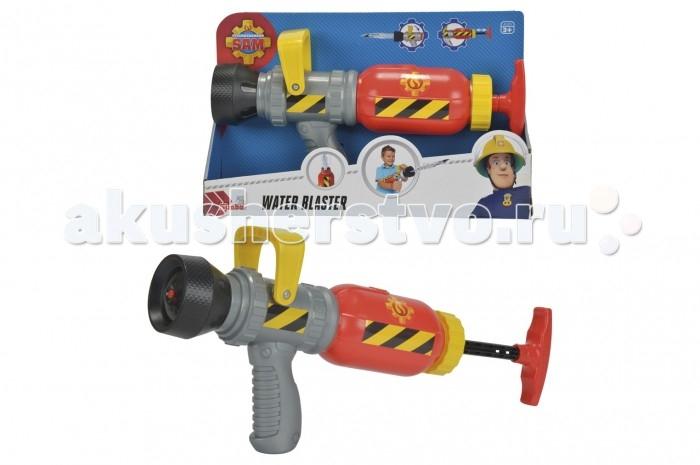 Simba Пожарный Сэм Водный бластерПожарный Сэм Водный бластерSimba Пожарный Сэм Водный бластер 31 см, обязательно понравится вашему малышу и займет его внимание надолго.<br>