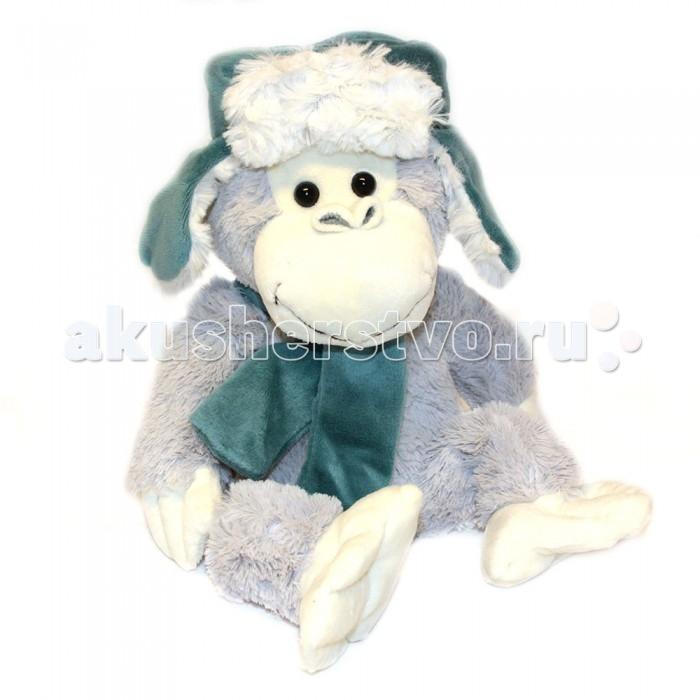 Мягкая игрушка Button Blue Обезьянка Ванек 26 см