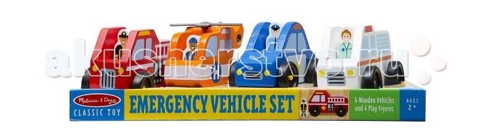 Деревянная игрушка Melissa & Doug Игровой набор Служба спасения