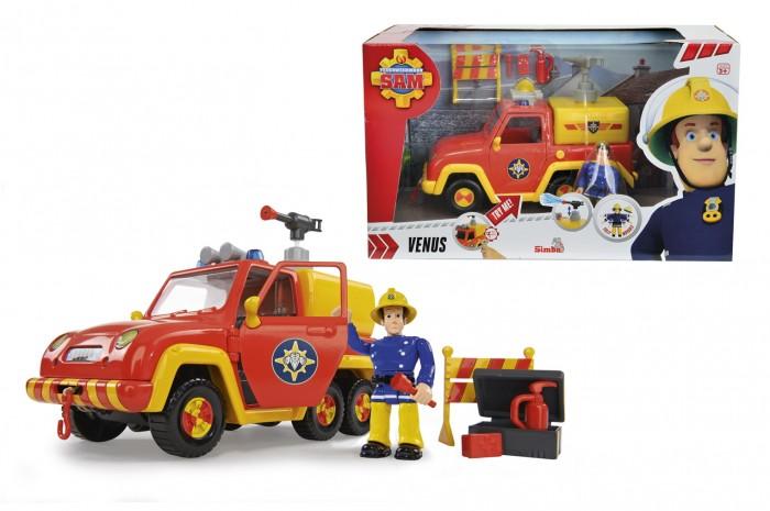 Simba Пожарный Сэм Машина со звуком и функцией воды