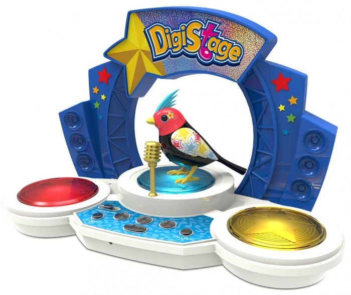 Интерактивная игрушка Digibirds Птичка со сценой