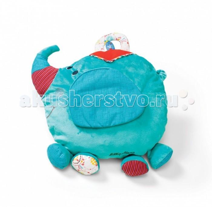 Lilliputiens Слоненок Альберт: мягкая игрушка-подушка