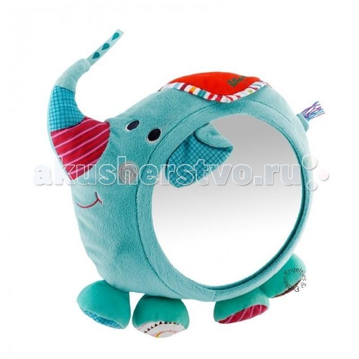 Мягкая игрушка Lilliputiens Слоненок Альберт: мягкая игрушка-зеркало