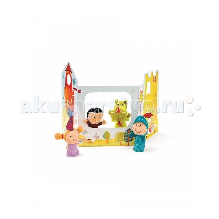 Мягкая игрушка Lilliputiens Пальчиковые игрушки: волшебный замок