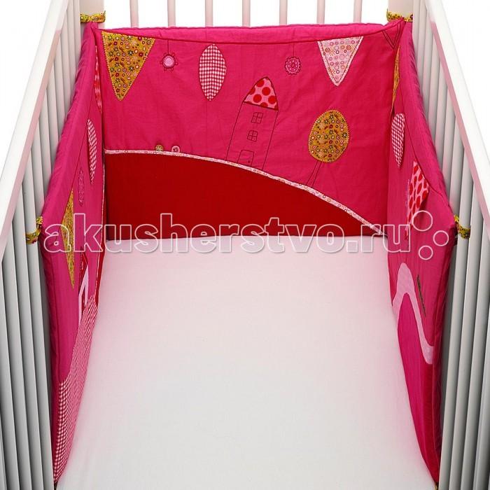 Бампер для кроватки Lilliputiens Божья коровка Лиза