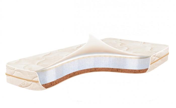 Матрас Ladema Fino LatexFino LatexДетский матрас Ladema Fino Latex - это забота о здоровье малыша с первых дней жизни. Ladema Fino Latex произведен на высокотехнологичном испанском производстве. При создании матраса использованы только качественные, безопасные для ребенка материалы.  Для правильного формирования позвоночника и отсутствия проблем с болями в спине в будущем, очень важно, чтобы в первый год жизни ребенок спал на идеально ровном и жестком матрасе. Ортопедический матрас Ladema Fino Latex подходит для использования с самого рождения.  Для достижения оптимального ортопедического эффекта наполнители чередуются. С одной стороны матраса в качестве настилочного материал использована кокосовая койра. Её основными преимуществами по праву считаются: высокая степень жесткости, прочность и влагоустойчивость.  Следующим слоем после кокосовой койры идет струттофайбер (7 см). Этот инновационный материал является современным заменителем поролона. Струттофайбер отличается упругостью, гипоаллергенностью, хорошей вентиляцией, износостойкостью. Вертикальное расположение волокон в одном направлении позволяет быстро восстанавливать объем даже после многочисленных нажатий.  Последним слоем или настилочным материалом с оборотной стороны является латекс. Данный материал нашел широкое применение при производстве ортопедических матрасов. Латекс значительно снижает нагрузку на мышцы ребенка, принимает его форму тела, хорошо пропускает воздух и не впитывает влагу.  Матрас Ladema Fino Latex способствует здоровому, комфортному сну Вашего малыша.  Особенности: латексированная пена (1 см) + струттофайбер (7 см) + кокосовая койра (2 см) стеганый съемный чехол из бамбукового трикотажа дышащая сетка 3DAirSpace размер: 120х60х12 см.<br>