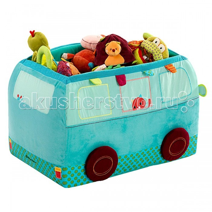 Lilliputiens Собачка Джеф: игрушка - корзина
