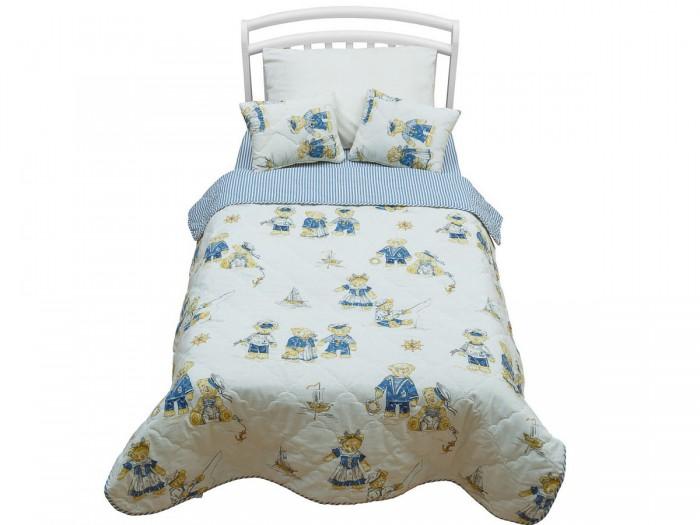 Плед Giovanni покрывало Orsetto Kids 170х110 с подушкамипокрывало Orsetto Kids 170х110 с подушкамиПокрывало с подушками Orsetto Kids в кровать для дошкольников (3 предмета)  Яркие дизайны порадуют ваших малышей. Комплект из двустороннего покрывала размером 110х170 см и двух декоративных подушек изготовлен специально для дошкольников и идеально подойдет для всех кроватей Giovanni размером 160х80 см.   Характеристика: Покрывало: 110х170 см Подушки: 30х40 см 2 штуки Состав: Хлопок 100% (бязь) Наполнитель: Гипоаллергенный холлофайбер<br>
