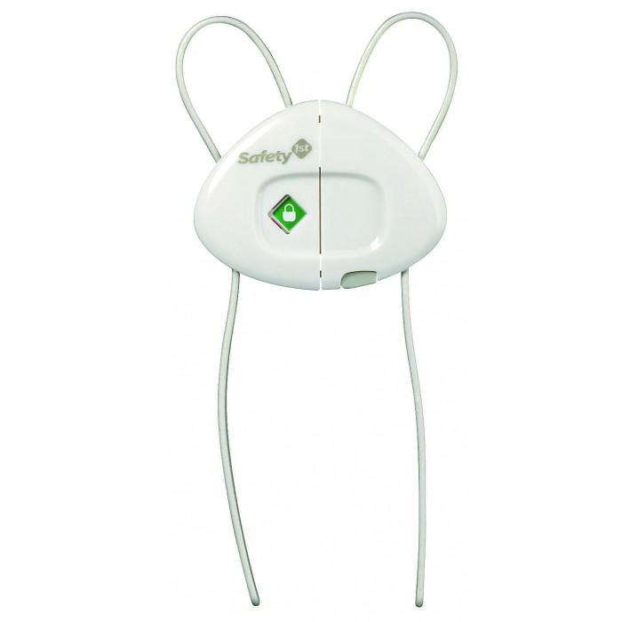 Safety 1st Блокирующее устройство для шкафов 39095Блокирующее устройство для шкафов 39095Помогут зафиксировать дверцы шкафчика так, чтобы малыш не мог без надобности заглянуть внутрь и при этом поранить свои пальчики.<br>