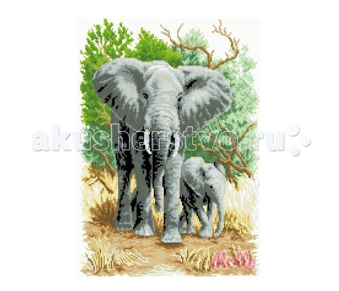 Molly Мозаичная картина Слоны на прогулке 40х50 смМозаичная картина Слоны на прогулке 40х50 смМозаичная картина Molly Слоны на прогулке 40 х 50 см - оригинальный набор, позволяющий создать первую картину, благодаря поэтапной выкладке мозаикой полотна.    В наборе:    Тканевый холст с клеевым слоем и с нанесенной схемой рисунка  Металлический пинцет  Пластиковый контейнер для элементов мозаики  Специальный карандаш  Клей-липучка для карандаша  Комплект разноцветных мозаичных элементов диаметром 2.5 мм  Размер: 40 х 50 см Количество цветов: 23 Уровень сложности: трудный  Мозаичные картины – это: вид творчества и увлекательное времяпровождение, которое позволяет без специальной подготовки любому желающему создать яркую, переливающуюся всеми цветами радуги картину. не что иное, как эскиз будущего рисунка, контур, нанесенный на холст. Рисунок разбит на маркированные сегменты, обозначенные буквой или цифрой. Каждой цифре или букве соответствует определенный цвет мозаики.  Благодаря качественной шлифовке мозаичных элементов любая готовая картина выглядит просто потрясающе. Специальный пинцет в наборе и клеевая основа холста позволяет удобно, без использования дополнительных инструментов распределять мозаичные элементы на холсте.  Картины мозаикой красиво сверкают при любом освещении. Готовая картина, помещенная в раму, - это отличный выбор и красивое интерьерное украшение.<br>