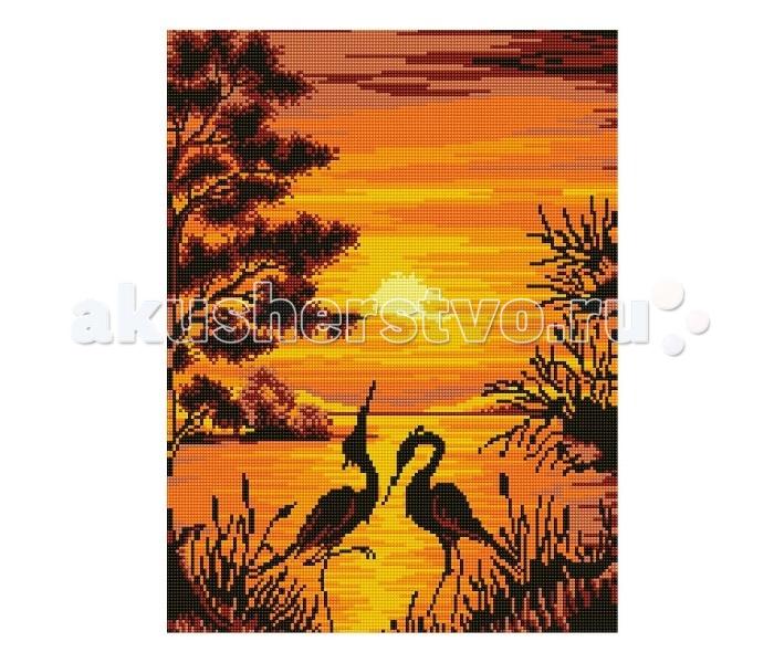 Molly Мозаичная картина Танец на закате 40х50 см