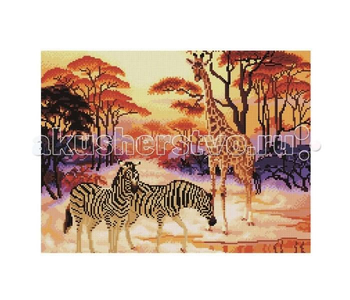 Molly Мозаичная картина Сафари 40х50 см