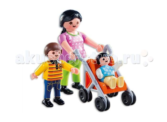Ouaps Мама с детьми Playmobil