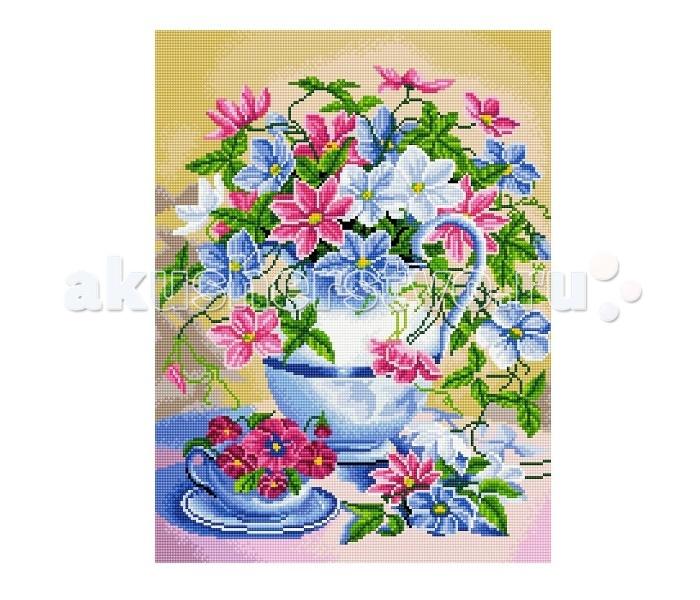 Molly Мозаичная картина Цветочный натюрморт 40х50 см
