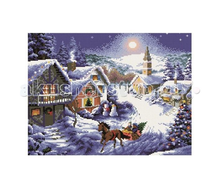 Molly Мозаичная картина Рождество 40х50 см