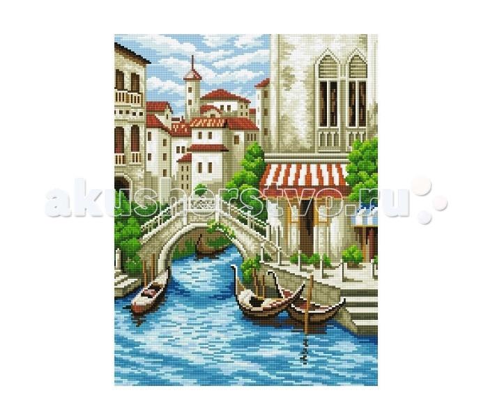Molly Мозаичная картина Венецианская улочка 40х50 см
