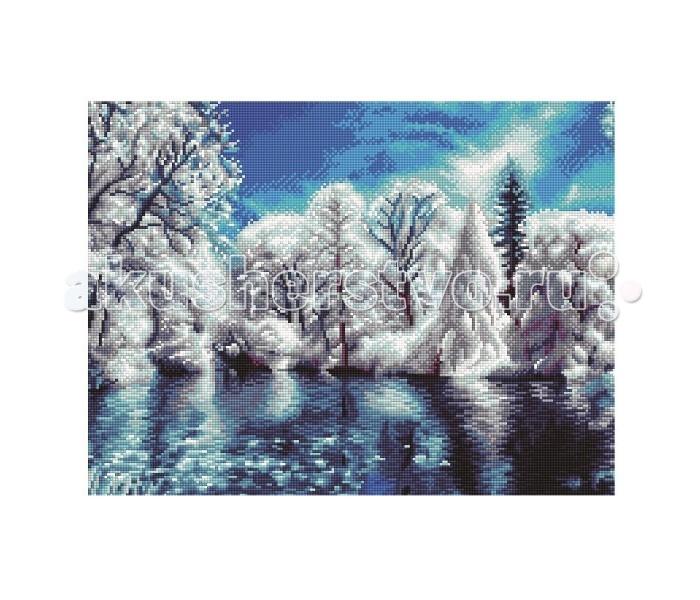 Molly Мозаичная картина Морозное утро 40х50 см