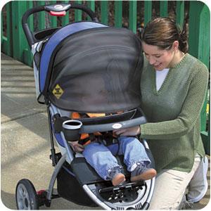 Аксессуары для колясок Safety 1st Защитная шторка от солнца на коляску
