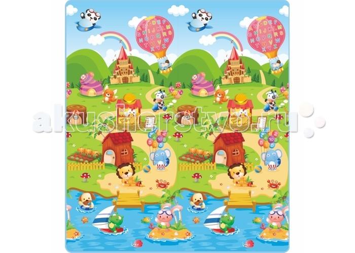 Игровой коврик Mambobaby Ферма 200х180х0,5 см