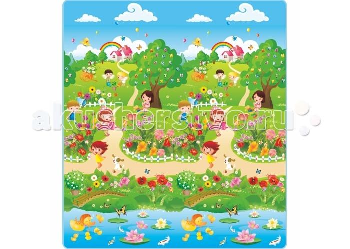 Игровой коврик Mambobaby Дети в парке