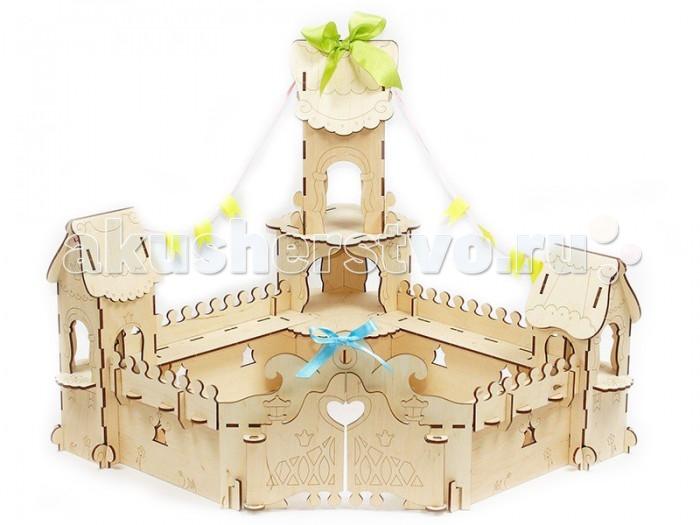Конструктор Woody Дворец принцессы (57 элементов)