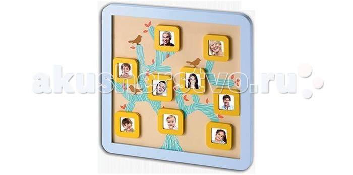 Baby Art Магнитная доска Семейной деревоМагнитная доска Семейной деревоBaby Art Магнитная доска Семейной дерево.  Семейное дерево - это деревянная рамочка, в которой можно разместить фото малыша и членов семьи, всего 9 фото. Ставится на стол или полочку или вешается на стену. Фон представляет собой толстые ветви дерева, на них вы размещаете магнитные рамочки, куда предварительно нужно вставить фотографии всех членов семьи. Набор очень прост в использовании: это может сделать любой, и это займет всего нескольких минут Вашего времени.  Такое дерево точно будет радовать глаз на Вашем столике или тумбочке и приятно получить в подарок не только новорожденному, а и маме с папой, дедушке или бабушке. Просто наклейте на доску наклейки в виде ствола дерева и разместите на ветках специальные маленькие рамочки с фотографиями родных и близких. Украсить дерево можно наклейками в виде листвы и птичек.Baby Art Магнитная доска семейное дерево - это замечательный подарок для ребенка и его родителей.<br>