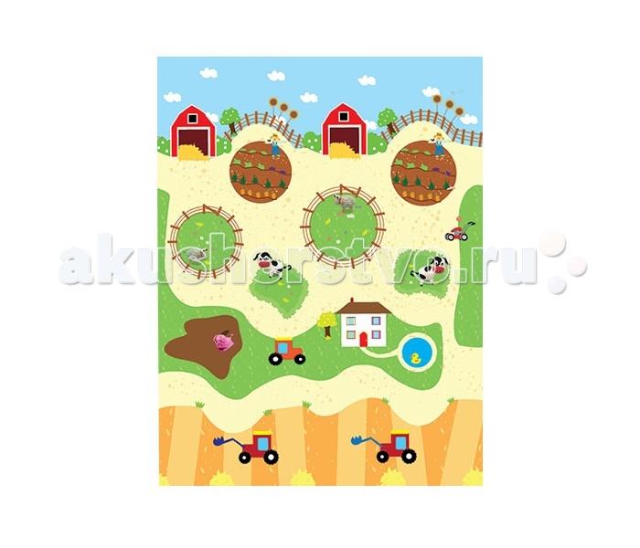Игровой коврик Idigo Ферма 75х60 см