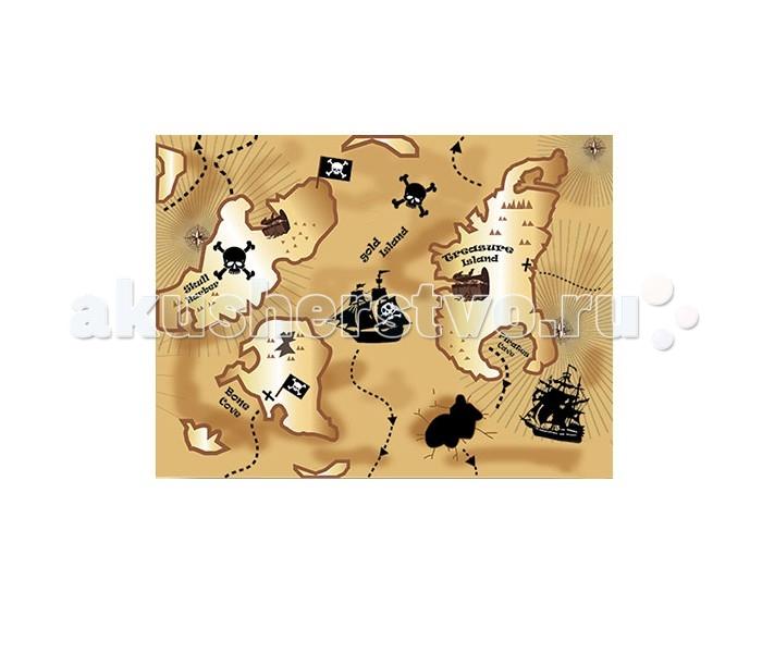 Игровой коврик Idigo Пираты 75х60 см